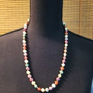 Jewelry - Womens Simulated Stone Necklace
